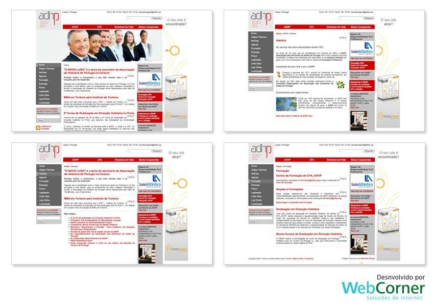 Design de template para site