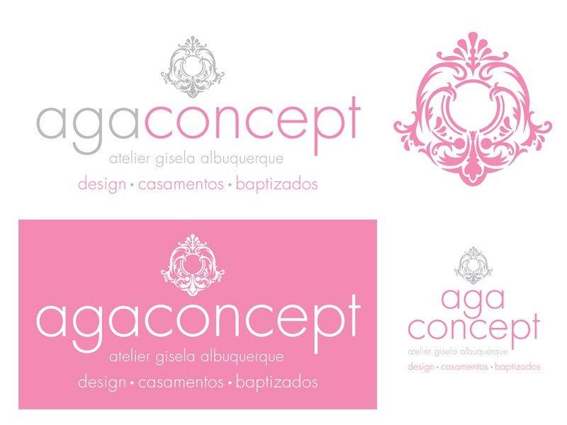 Criação de Logotipo Aga Concept