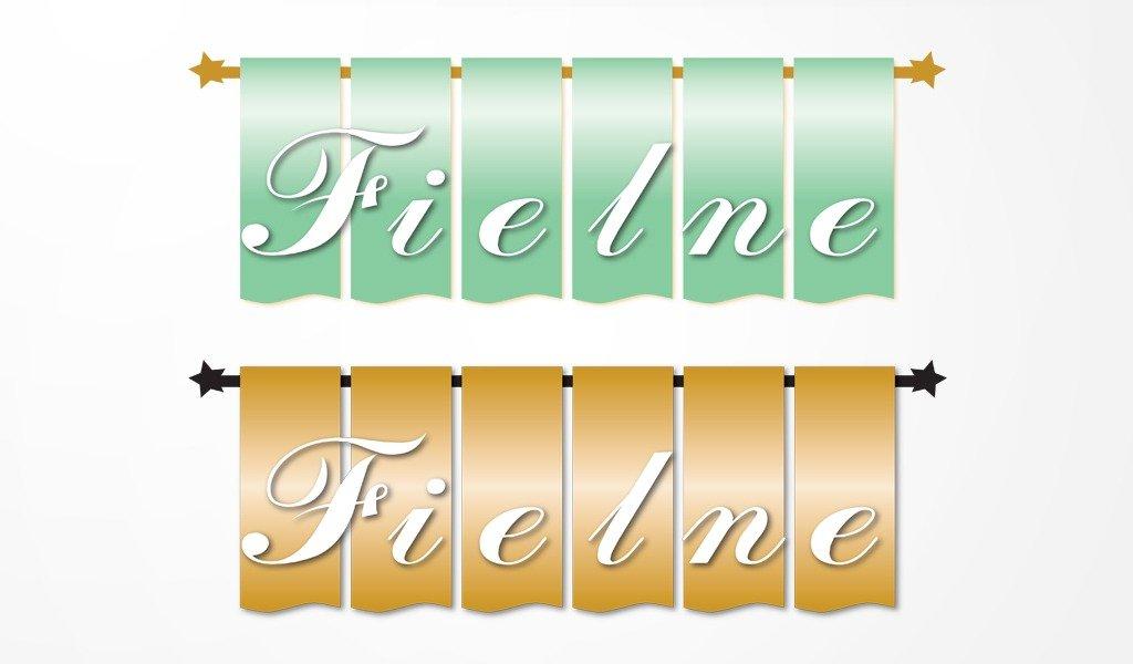 Fielne – criação de logotipo para empresa de cortinados