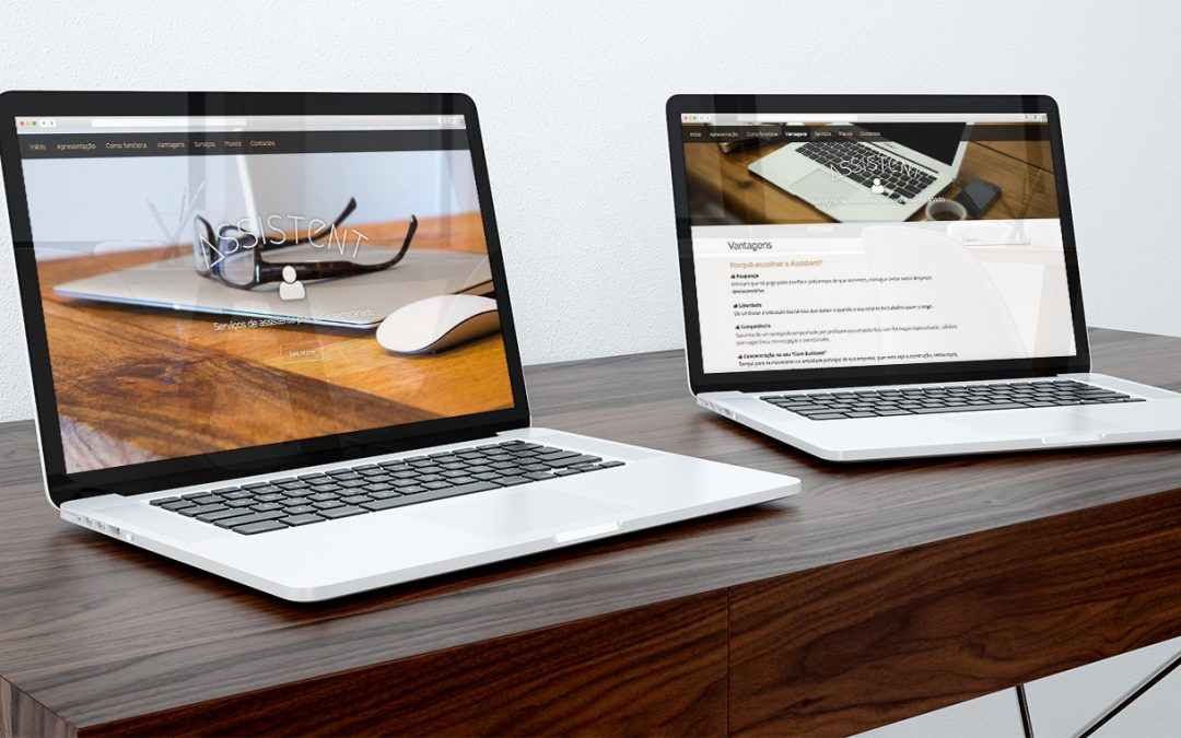 Assistent – desenvolvimento de website para assistente pessoal