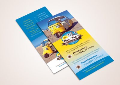 tuktuk flyers
