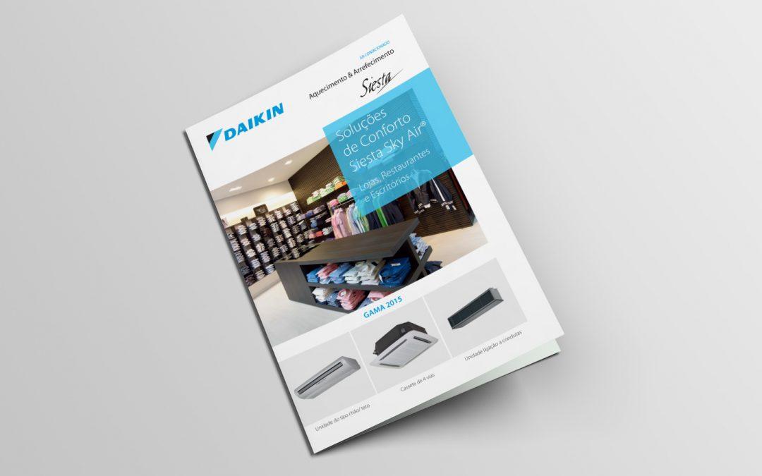 Daikin – serviços de Design Gráfico e paginação
