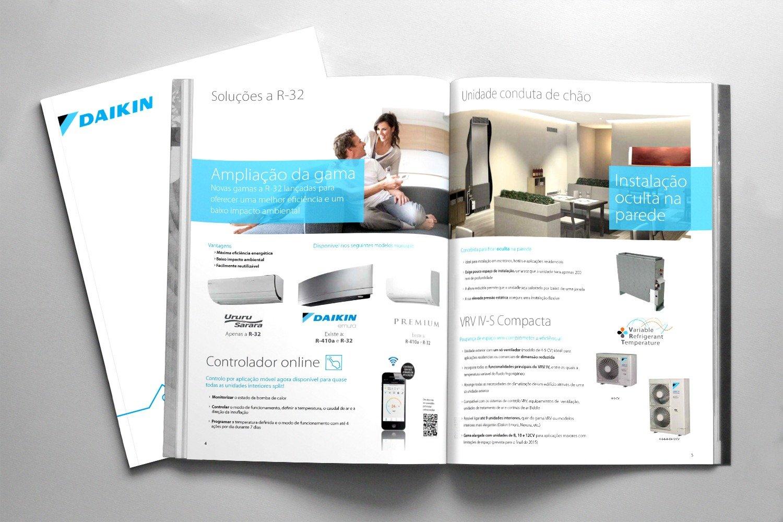 Daikin - Paginação de catálogos e brochuras