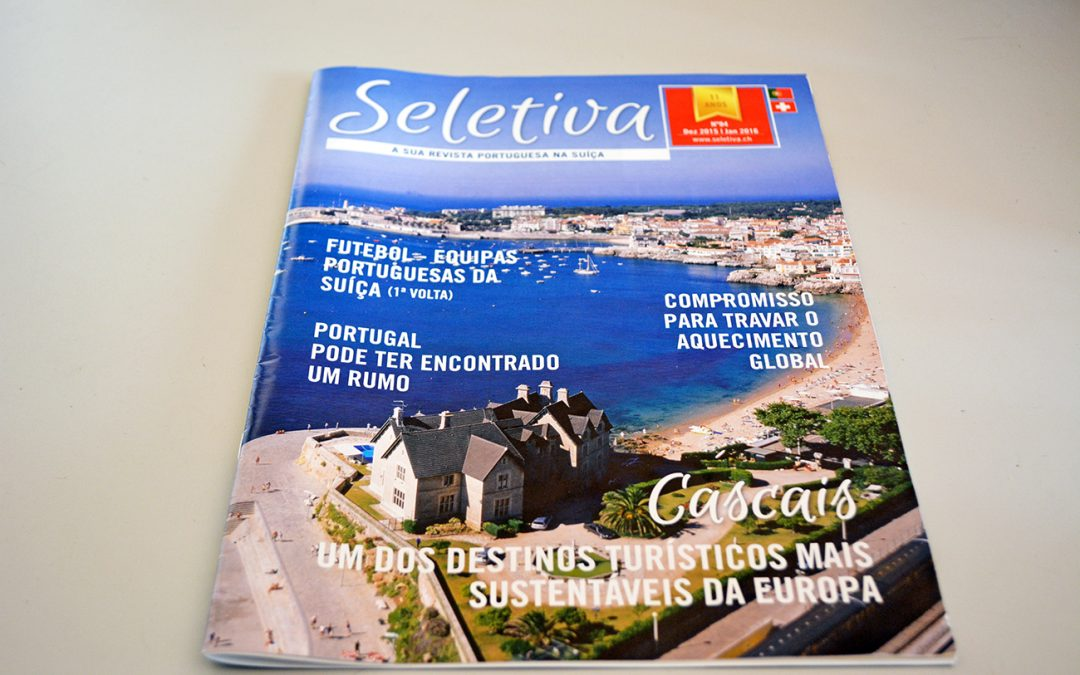 Seletiva – paginação de revista / design editorial