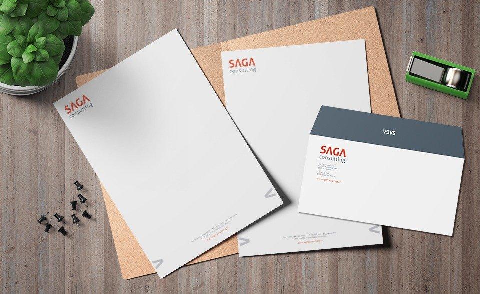 Saga Consulting - estacionário