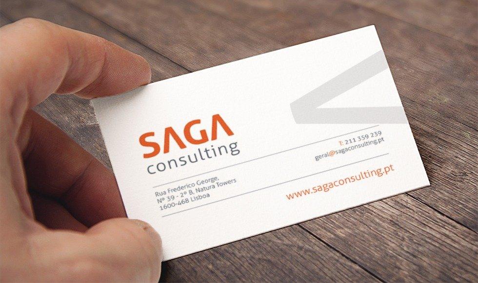 Saga Consulting - Cartões pessoais